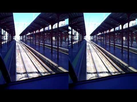 Trenes en Madrid - Vídeo 3D con sonido binaural (26 nov 2011)