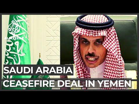 Saudi Arabia announces ceasefire deal in Yemen, Houthis rebuff it