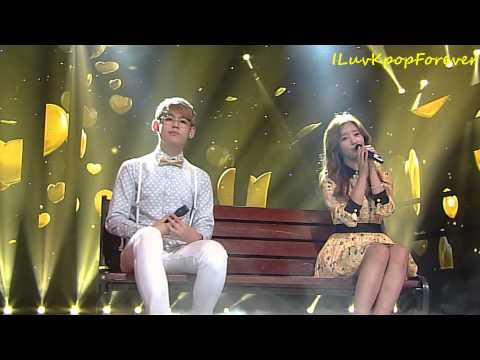 [Edited] 131006 K-Hunter - Marry Me (Feat Bomi Of Apink) @ Inkigayo [1080p]