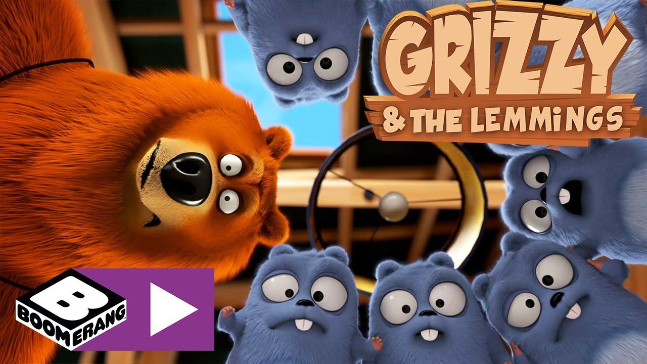 Grizzy I Lemingi Magiczna Gra Boomerang Youtube