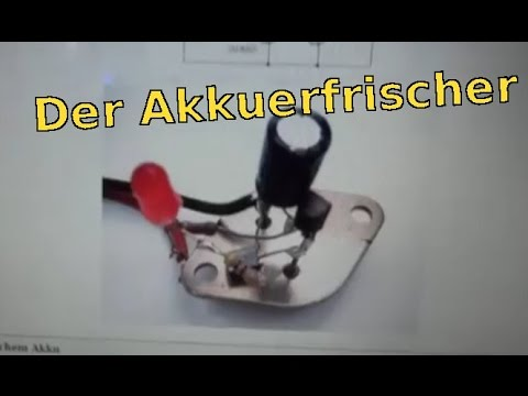 diy akkus regenerieren funnydog tv. Black Bedroom Furniture Sets. Home Design Ideas