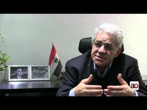 Hamdeen Sabbahi speaks to Ahram Online لقاء مع حمدين صباحي