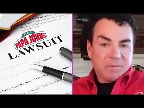 Papa John Gives Us His Lawsuit Update