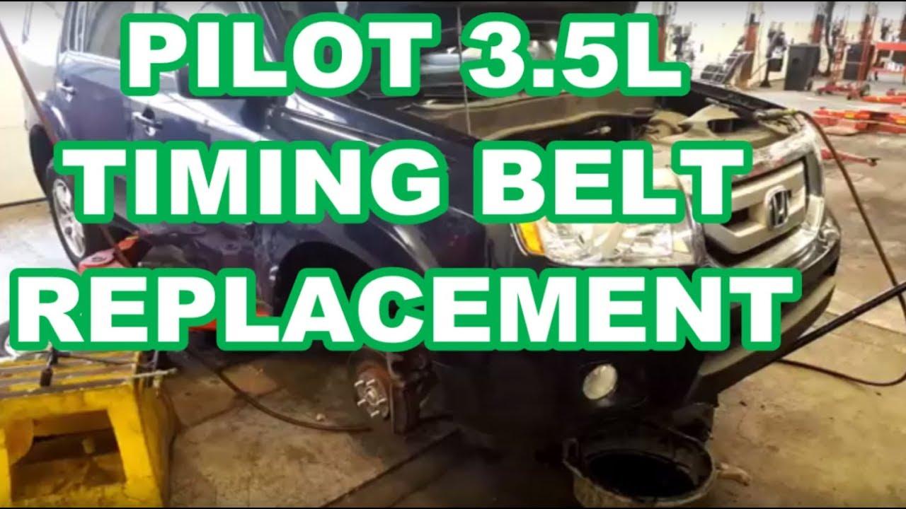 change timing belt honda accord v6