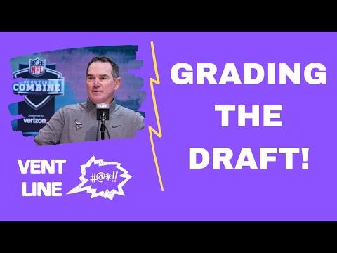 Grading Minnesota Vikings 2021 NFL Draft! – VENT Line