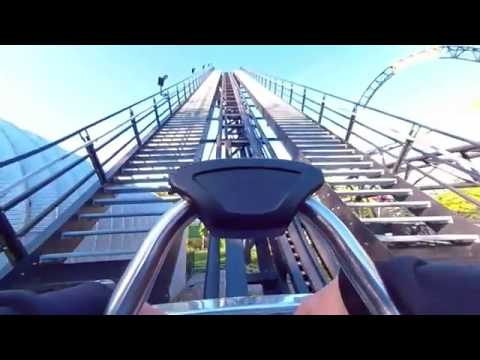 3D Roller Coaster VR180 Experience – LOST GRAVITY | VR POV @ Walibi Holland Vuze XR Oculus Rift Go