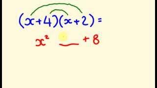 Algebra Tricks - Multiply binomials instantly!