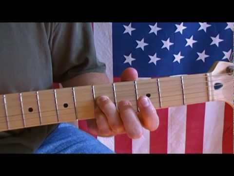 how to play the intro to fortunate son