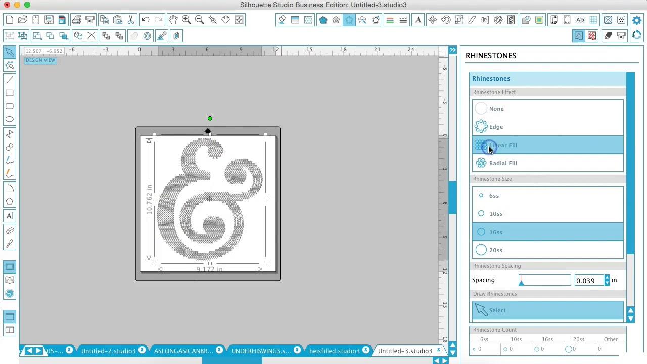 Creating rhinestone templates in silhouette studio youtube creating rhinestone templates in silhouette studio spiritdancerdesigns Choice Image