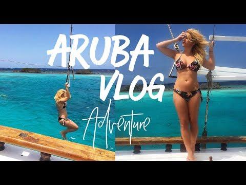 Aruba Vlog Adventure: Sailboat, Paddle Boarding & Beaches
