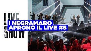 I Negramaro aprono il quinto Live di #XF11 - Live Show 5