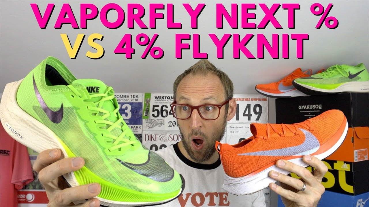 Nike Vaporfly Next Vs 4 Flyknit Should You Upgrade Eddbud Youtube