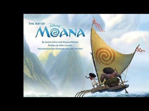 The Art of Moana (Oceania) - Disney