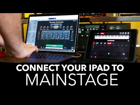 HOW TO CONNECT YOUR IPAD TO MAINSTAGE / DREAM FOOT