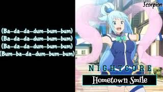 Download [Nightcore] → Hometown Smile (Lyrics) Mp3