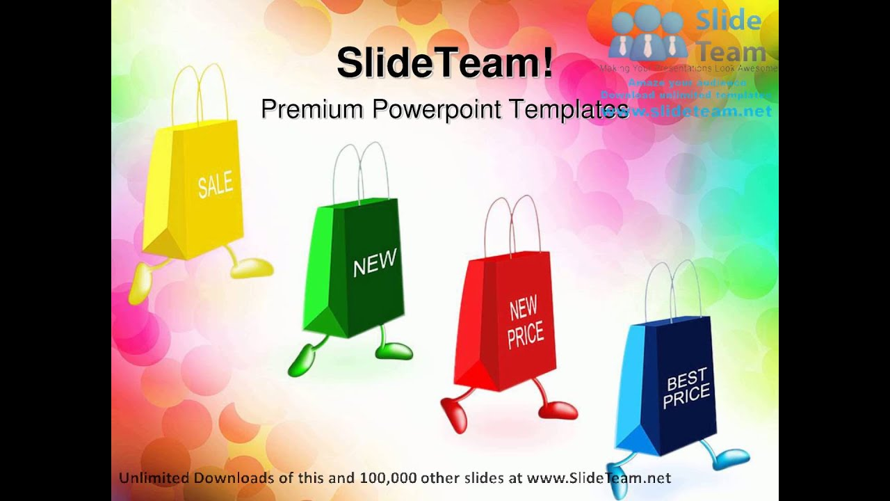 powerpoint templates advertising theme choice image