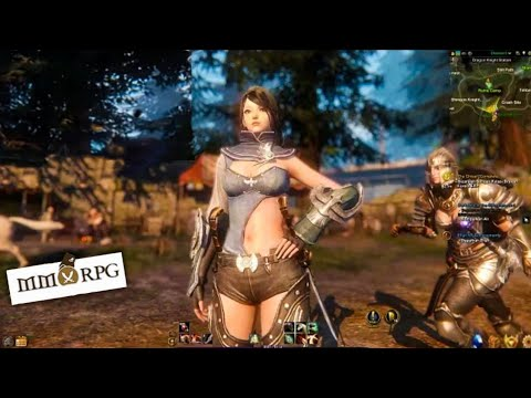 NEW MMORPG GAMES FOR ANDROID AND IOS 2019/ RPG Gameplay / ANDROID MMORPG Gameplay / Game Hunt