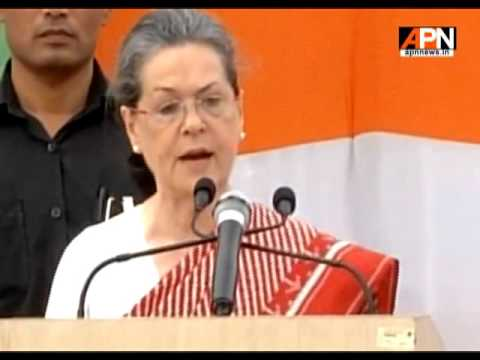 Sonia Gandhi blames UPA Govt. & Manmohan Singh for poor performance