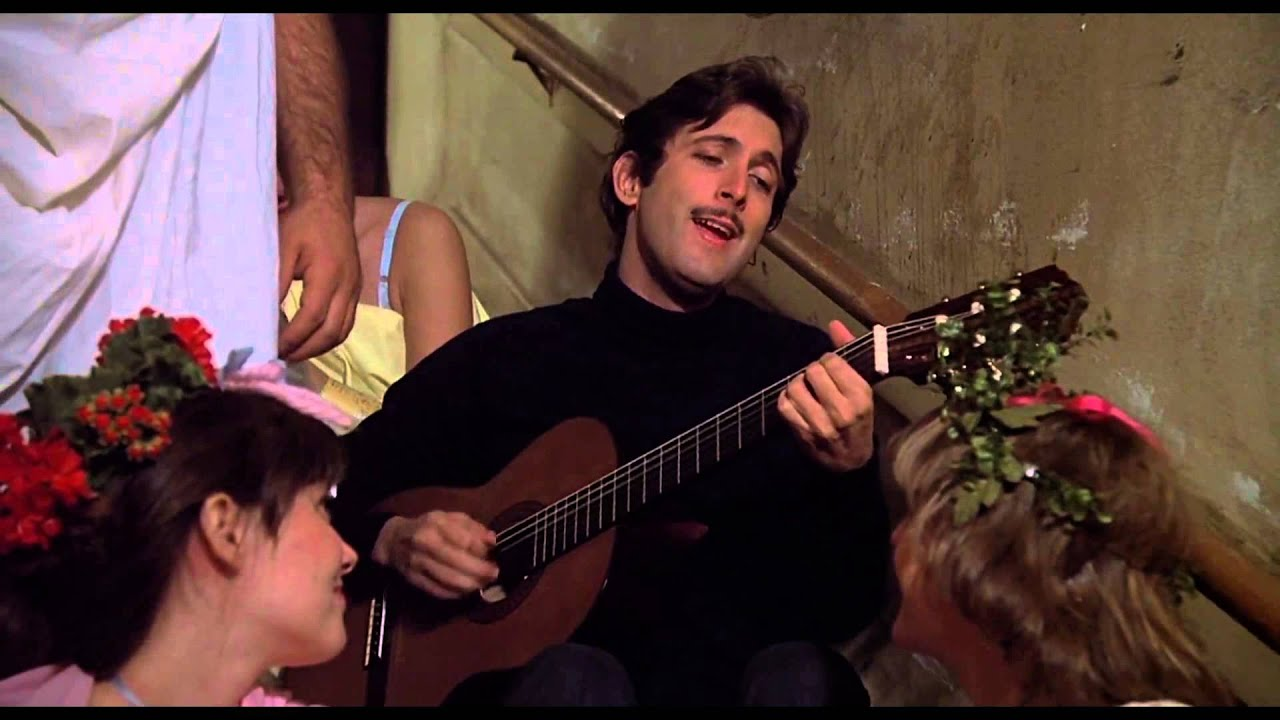 Animal house guitar scene youtube for Home party tube