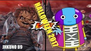 PRE ESPECIAL HALLOWEEN 2017   DRAGON BALL Z BUDOKAI TENKAICHI 3   CHUCKY VS ZENO SAMA