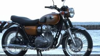 Kawasaki W800 TEST RIDE MOVIE カワサキ W800 バイク試乗インプレ・レビュー thumbnail