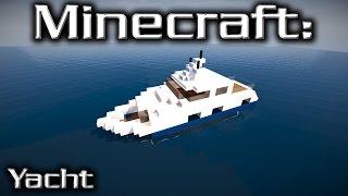 Minecraft: Small Yacht Tutorial 10