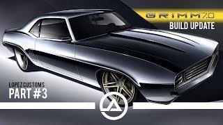 Grimm 7.0 Custom 1969 Camaro SEMA 2019 Progress Report Continued