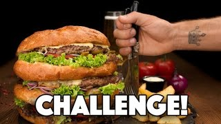 1200g BURGER CHALLENGE !!!