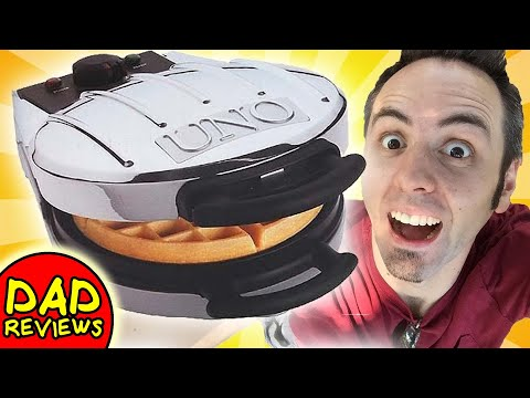 BEST WAFFLE MAKER   Uno Waffle Maker Review