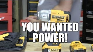 "DEWALT DCF899P2 20V 1/2"" Impact Wrench Kit - First Look"