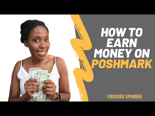 How to Earn Money on Poshmark - Tips to Selling Online!!
