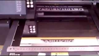 видео Печать на композите. УФ печать на композитных панелях