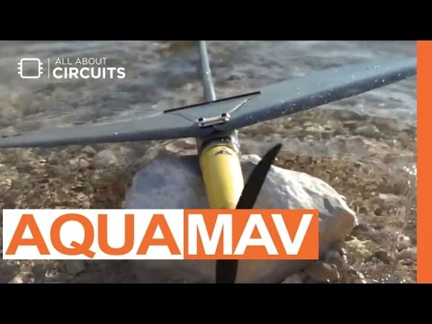 Aquatic Micro Air Vehicle - Aerial Aquatic Locomotion