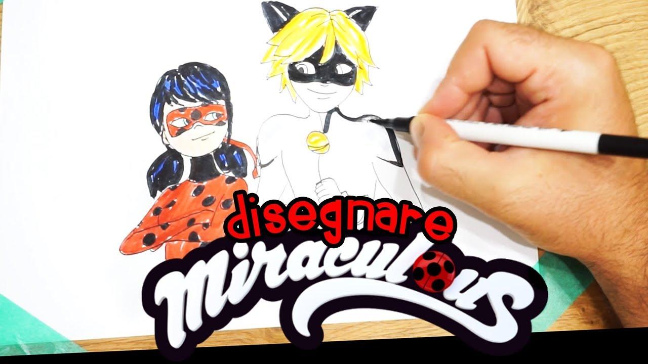 Lady Bug Di Miraculous E Chat Noir Il Disegno Del Cartone Animato