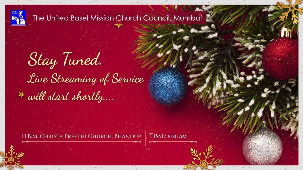 Christmas Church Services Near Me 2021 U B M Bhandup Church Service 26th January 2021 Youtube