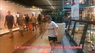 Gutek vs Kudełek Zakładają Siatki - Pojedynek na dziurki w Galerii w Lubinie