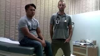 USU MSN-572 Cardiovascular Exam Video - Brian J.