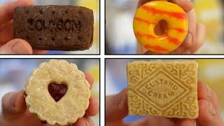 DIY Custard Cream, Jammie Dodger, Party Rings & Chocolate bourbon biscuits