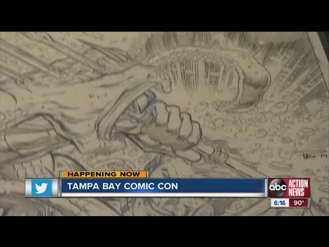 Tampa Comic Con offers chance to meet artists