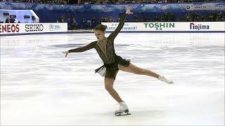 Софья Самодурова. Произвольная программа. Женщины. NHK Trophy. Гран-при по фигурному катанию 2019/20