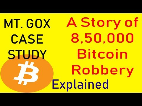 A STORY OF 8,50,000 BITCOIN ROBBERY. MT. GOX CASE STUDY EXPLAINED..8,50,000  बिटकॉइन की रॉबरी