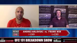 UFC 191 Breakdown Show w/ Frank Trigg and Nick Kalikas
