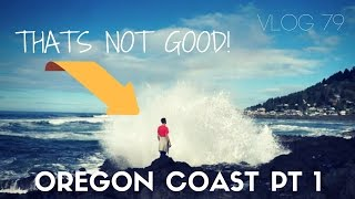 A Painful Rainy Awesome Adventure Down the Oregon Coast - MOTM VLOG 79