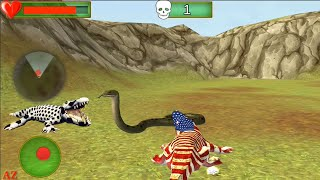 Crocodile Beach & City Attack Simulator Games - Best Android GamePlay
