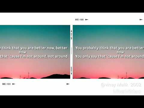 Post Melon - Better Now lyrics