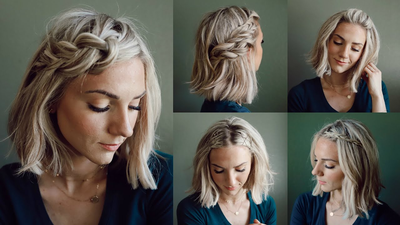 5 Quick Go-To Short Hairstyles