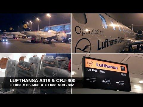 TRIP REPORT | Lufthansa A319 & CRJ-900 | Milan MXP ✈ Sibiu via Munich | Economy Class