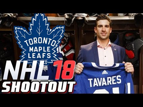 JOHN TAVARES IS A LEAF - NHL 18 - Shootout Commentary ep. 8