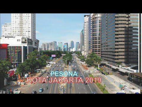 Pesona Kota Jakarta 2019, Video Udara Skyline Ibukota Negara dan Kota Terbesar di Indonesia