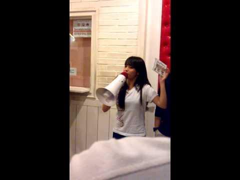 nabilah JKT48 promosi Album Heavy Rotation